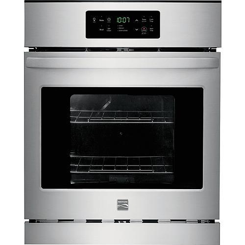 """Kenmore 40543 24"""" Self-Cleaning Electric Wall Oven - Stainless Steel"""