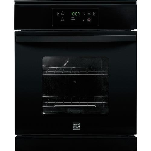 "Kenmore 40539 24"" Electric Wall Oven - Black"