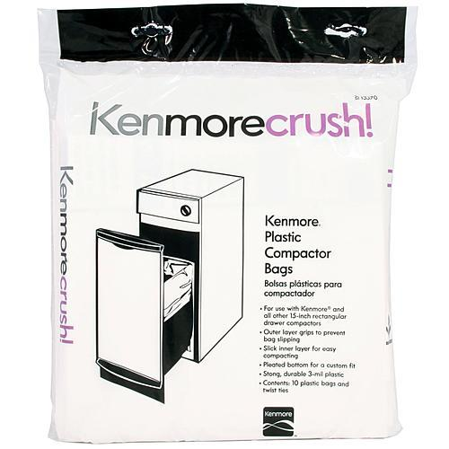 Kenmore 13370  Plastic Trash Compactor Bags  10 Count