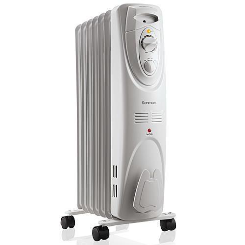 Kenmore NY15ER-7  Radiator Heater - White