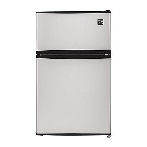 Kenmore 99033  3.2 cu. ft. 2-Door Compact Refrigerator - Metallic