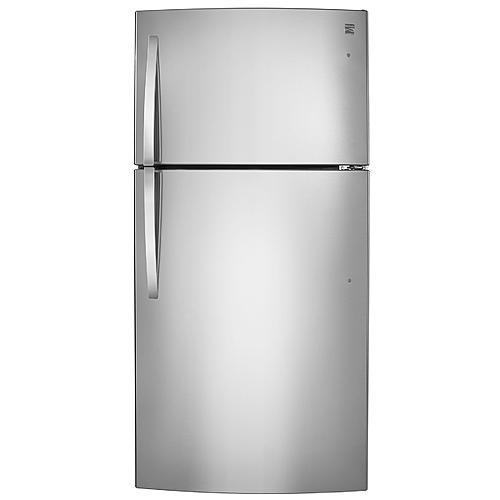 Kenmore 68033  23.8 cu. ft. Top-Freezer Refrigerator - Stainless Steel