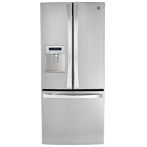 Kenmore Elite 71323  21.8 cu. ft. French Door Bottom-Freezer Refrigerator—Stainless Steel