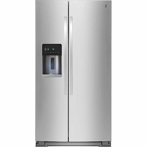 Kenmore 51783  21 cu. ft. Counter-Depth Side-by-Side Refrigerator - Stainless Steel
