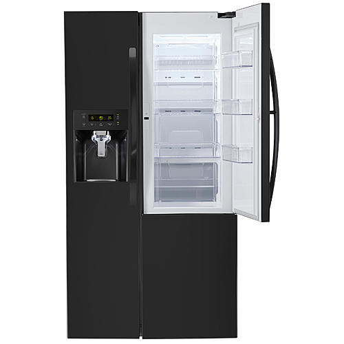 Kenmore 51839  26.1  cu.ft. Capacity Side-by-Side Refrigerator w/ Grab-N-Go™ Door - Black