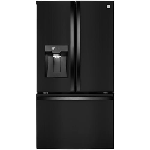 Kenmore Elite 74309  29.8 cu. ft. Smart French Door Refrigerator – Black