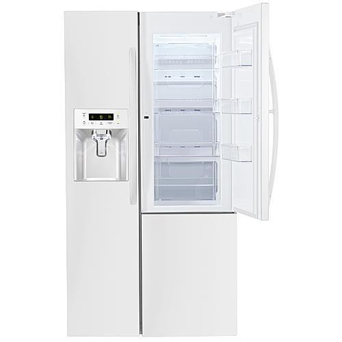 Kenmore 51832  26.1 cu.ft. Capacity Side-by-Side Refrigerator w/ Grab-N-Go™ Door - White