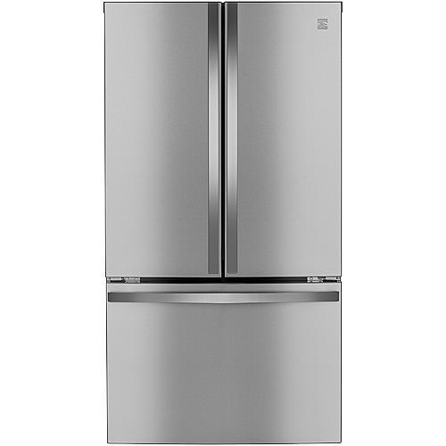 Kenmore Elite 74105  28.7 cu. ft. Smart French Door Fingerprint Resistant Stainless Steel Refrigerator – Active Finish™