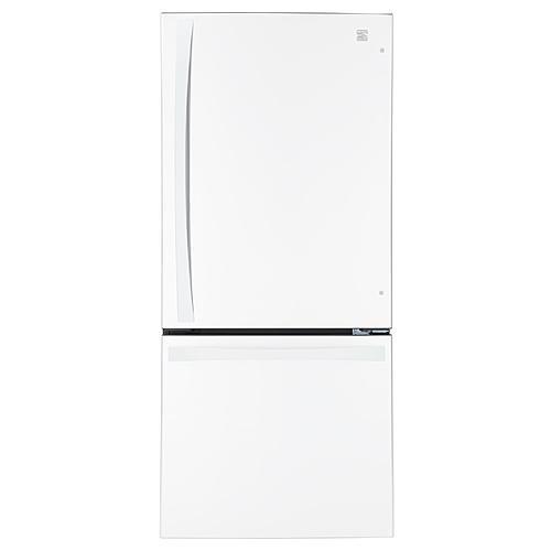 Kenmore Elite 79022  22.1 cu. ft. Bottom-Freezer Refrigerator – White