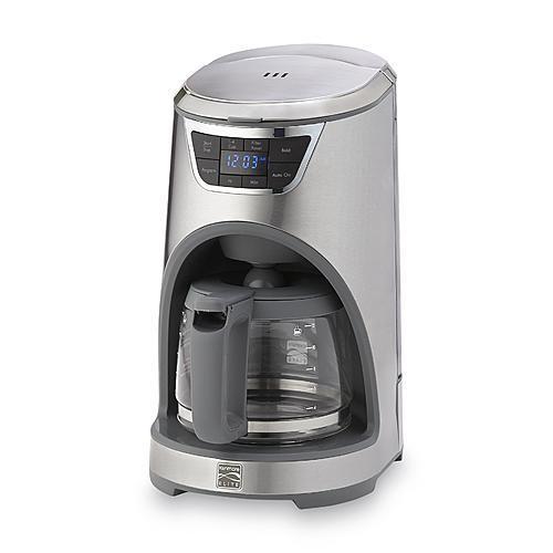 Kenmore Elite 369199  12-Cup Coffee Maker - Stainless Steel
