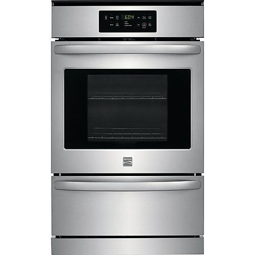 "Kenmore 40413 24"" Gas Wall Oven - Stainless Steel"