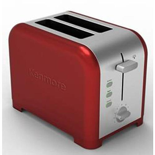 Kenmore 133110 2-Slice Toaster in Red