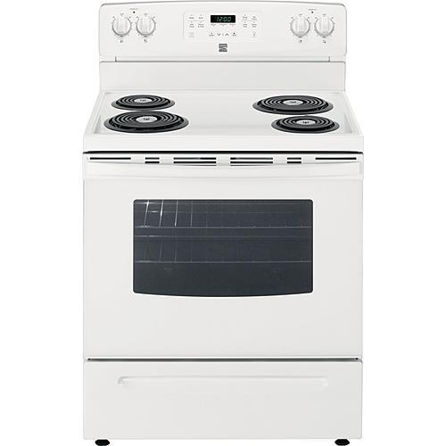 Kenmore 92562 5.3 cu. ft. Self-Clean Electric Coil Range - White