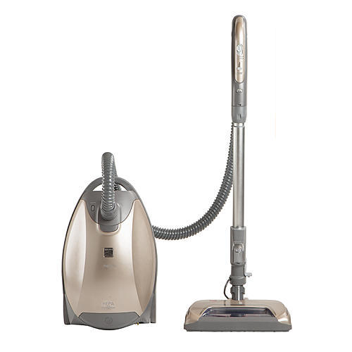 Kenmore Elite 81714 Pet Friendly Canister Vacuum with Ultra Plush Nozzle - Gray