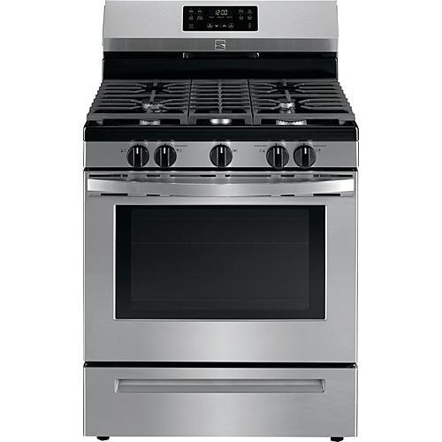 Kenmore 74433 5.0 cu. ft. Self-Clean Gas Range - Stainless Steel