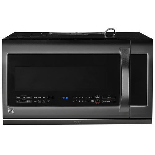 Kenmore Elite 87587 2.2 cu. ft. Over-the-Range Microwave Oven - BlackStainless