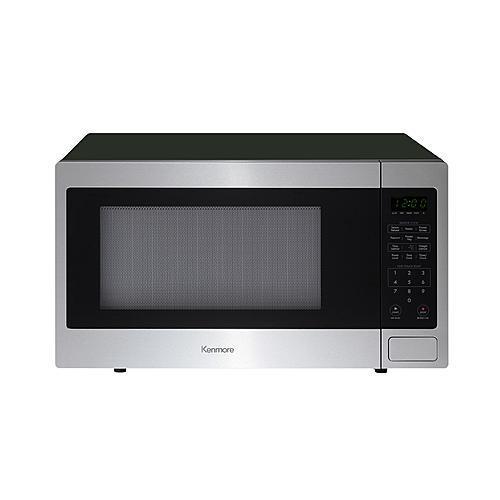 Kenmore 71613 1.6 cu. ft. Countertop Microwave - Stainless Steel