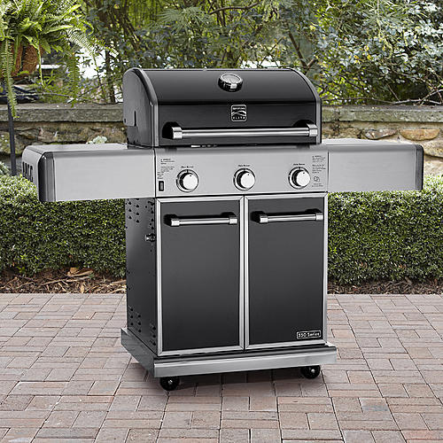 Kenmore Elite 3-Burner Gas Grill with Warming Rack *Limited Availability