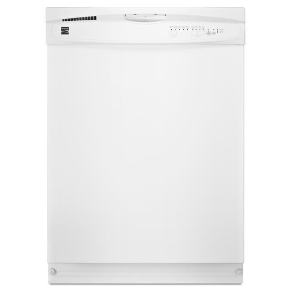 "Kenmore 14422 24"" Built-In Dishwasher - White"