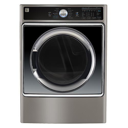 Kenmore Elite 91983  9.0 cu. ft. Smart Gas Dryer w/ Accela Steam Technology – Metallic Silver