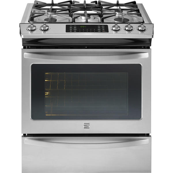 Kenmore 32673  4.5 cu. ft. Slide-In Gas Range w/True Convection Cooking - Stainless Steel