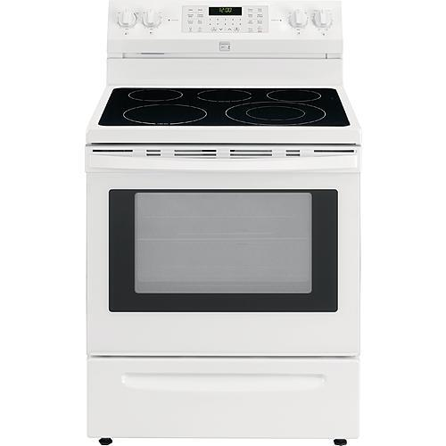Kenmore 92642 5.7 cu. ft. Electric Range with True Convection - White