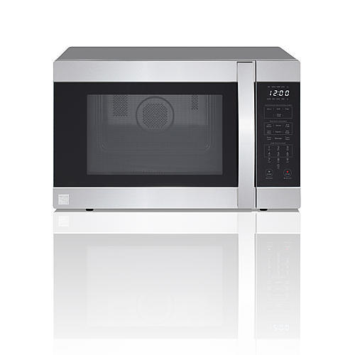 Kenmore 71513 1.5 cu. ft. Countertop Microwave Oven with Convection - Stainless Steel