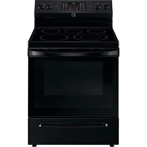 Kenmore 92649 5.7 cu. ft. Electric Range with True Convection - Black