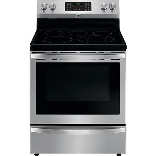Kenmore 92643 5.7 cu. ft. Electric Range with True Convection - Stainless Steel
